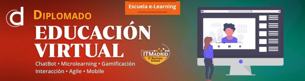 Banner Diplomado en Educación Virtual