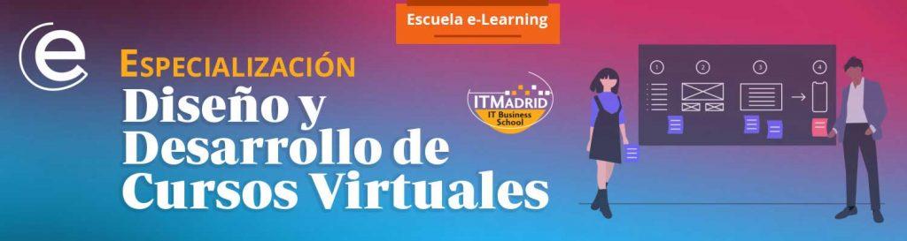 Banner Diseño y Desarrollo de Cursos Virtuales